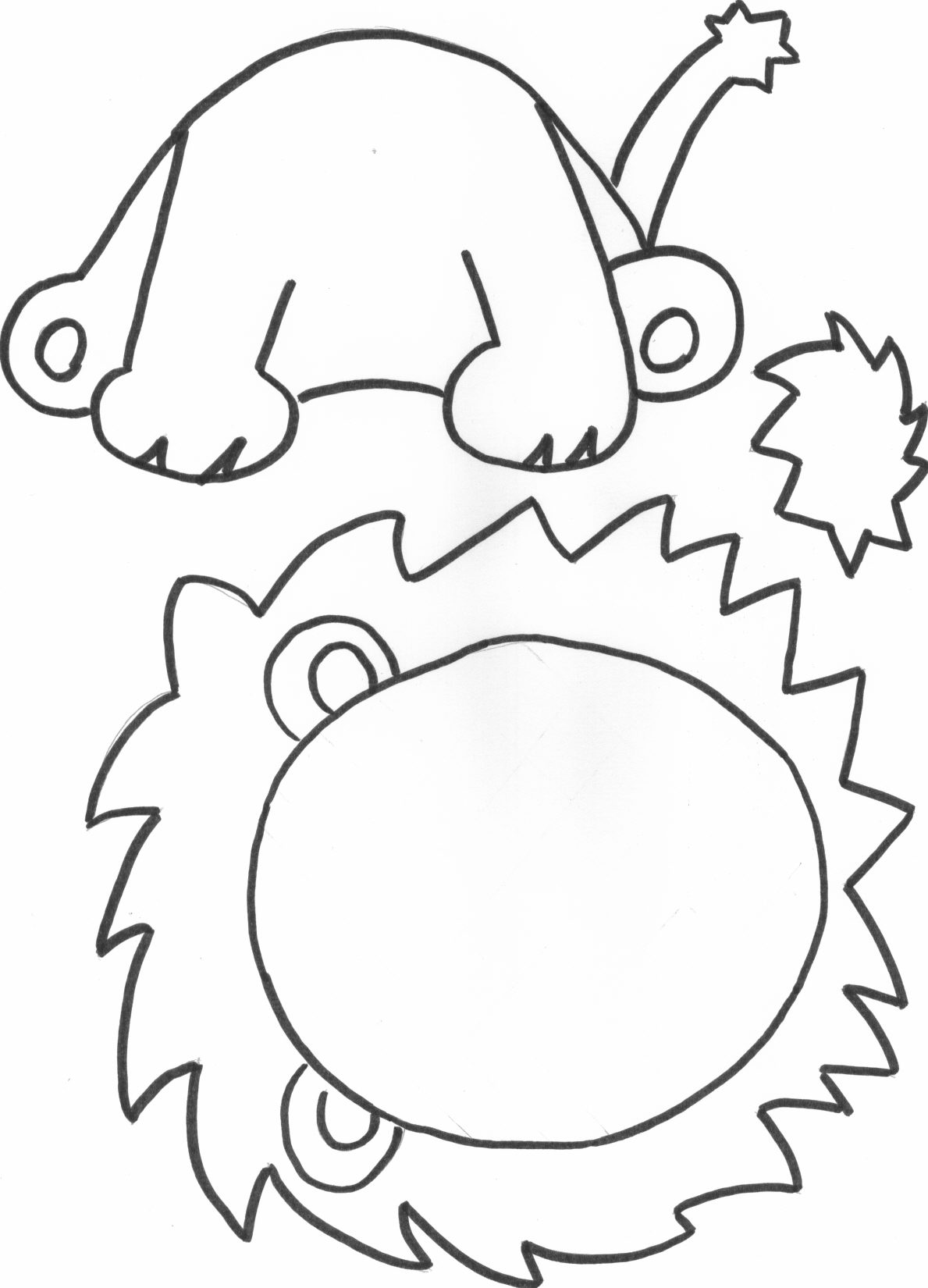 Modele dessin lion galerie tatouage - Comment dessiner un lion ...