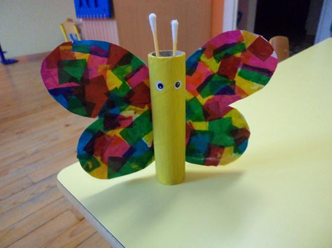 Activit s du mois - Papillon avec rouleau de papier toilette ...