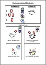 Activit s du mois - Comment faire de la pate a sel ...